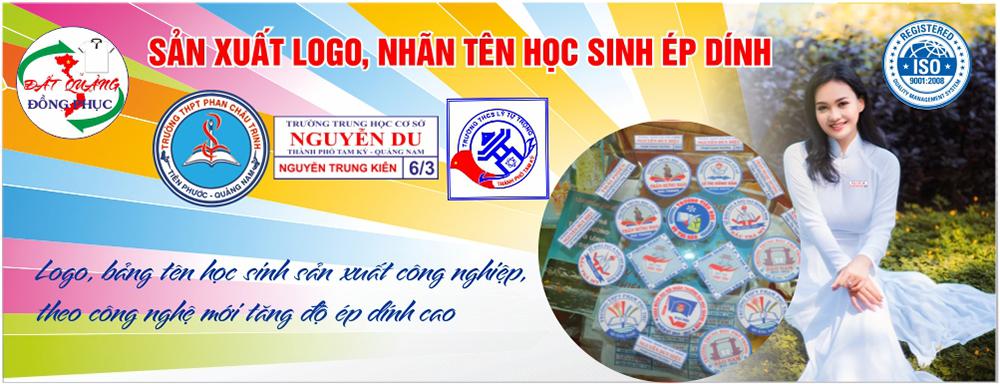 Logo, bảng tên học sinh